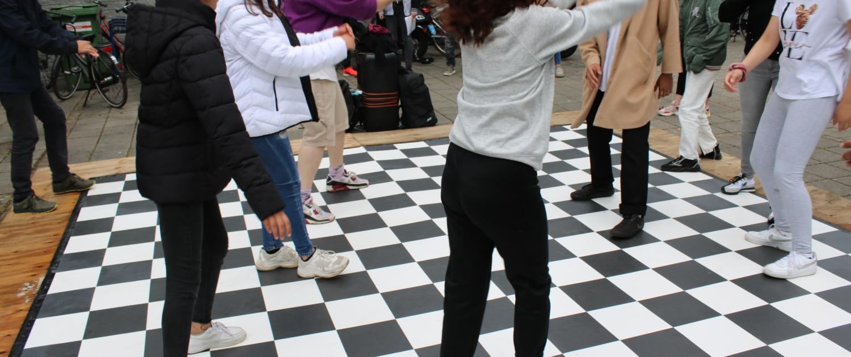 Opening urban dance floor bij jongerencentrum 4West - Samenwerking PowerUp073 en 'S-PORT
